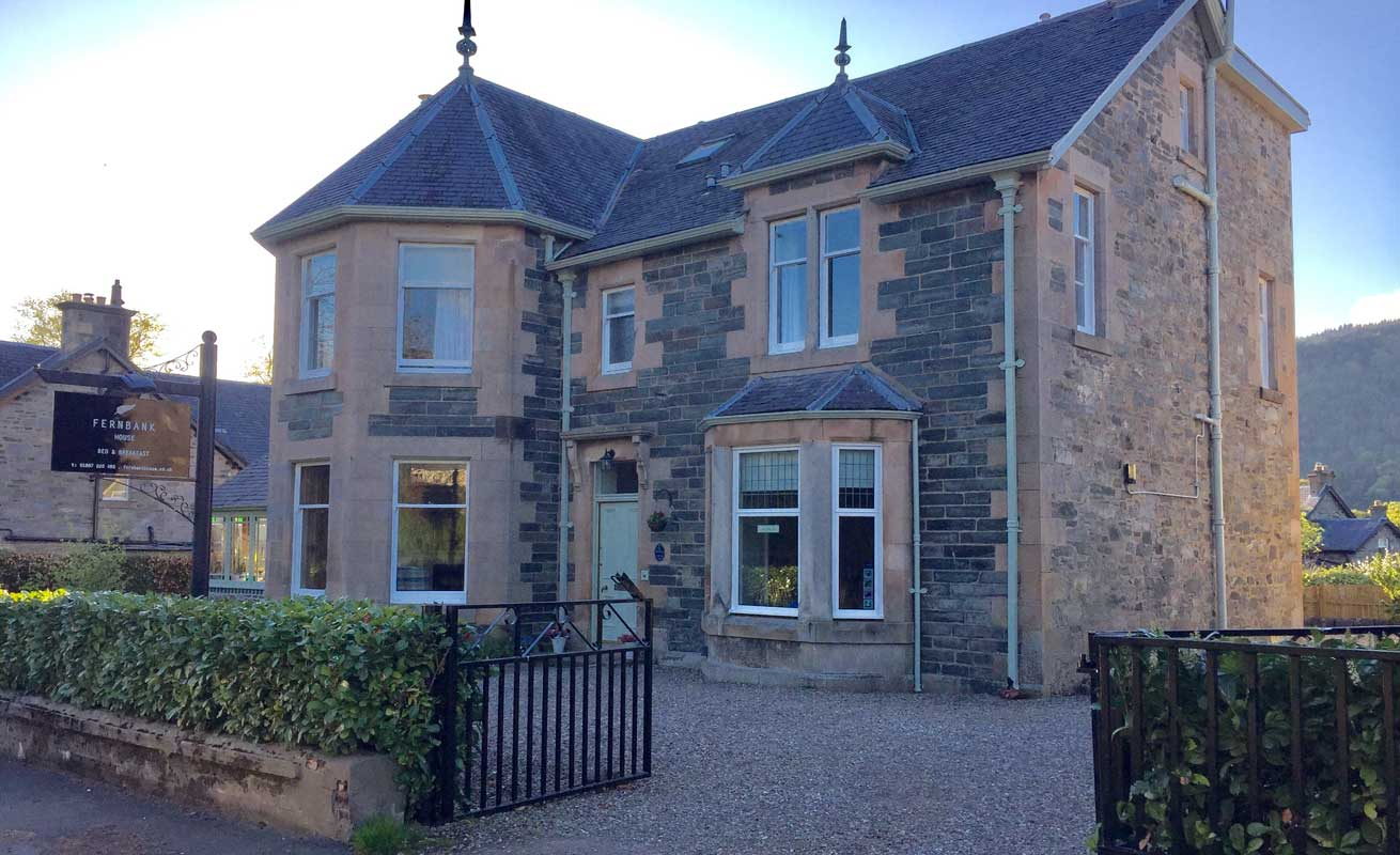 Fernbank House Guest House Aberfeldy Perthshire Scotland